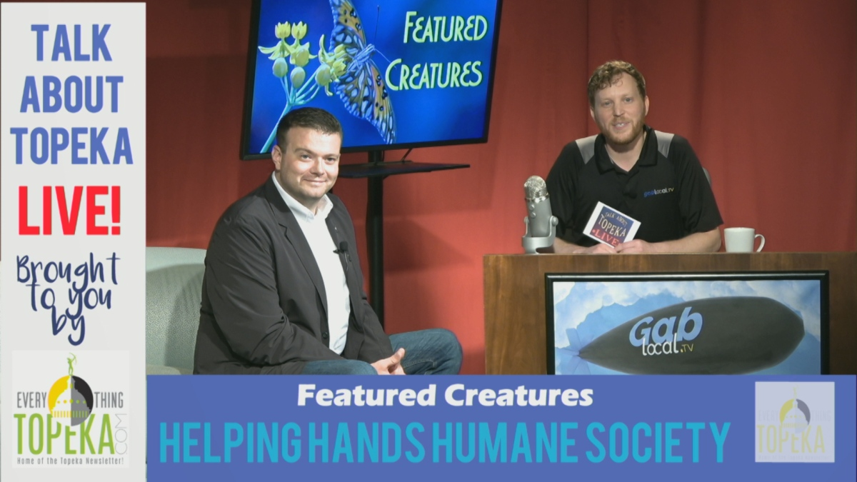 talk about topeka #24: helping hands humane society « gablocal.tv